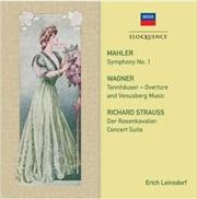 Mahler - Symphony No 1 Strauss Wagner | CD
