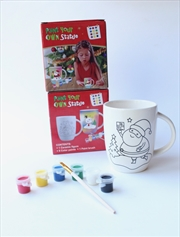 Christmas Mug - Paint Your Own | Merchandise