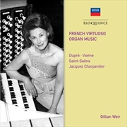 French Virtuoso Organ Music | CD