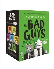 Bad Guys Even Badder Box: 1-7 | Paperback Book