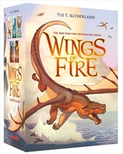 Wings of Fire 1-5 Boxed Set | Paperback Book