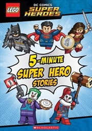 5-Minute Super Hero Stories (LEGO: DC Comics) | Hardback Book