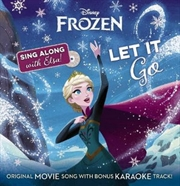 Let It Go Book+ CD (Disney: Frozen) | Hardback Book