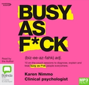 Busy As F*ck | Audio Book