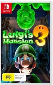 Luigis Mansion 3 | Nintendo Switch