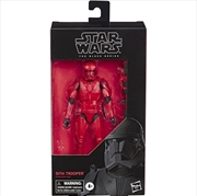 Sith Trooper Action Figure: Star Wars: The Rise of Skywalker: The Black Series | Merchandise