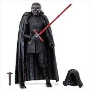 Supreme Leader Kylo Ren Action Figure – Star Wars: The Rise of Skywalker – The Black Series | Merchandise