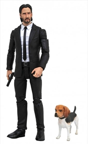 "John Wick - John Wick with Dog 7"" Action Figure 
