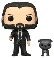 John Wick - John Wick with Dog Pop! Vinyl | Pop Vinyl