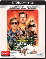 Once Upon A Time In Hollywood | Blu-ray + UHD | UHD
