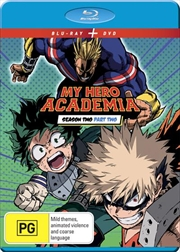 My Hero Academia - Season 2 - Part 2 | Blu-ray + DVD | Blu-ray/DVD