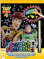 Scratch Fantastic: Toy Story 4   Paperback Book