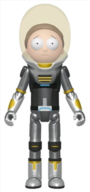 Rick and Morty - Space Suit Morty Metallic Action Figure [RS] | Merchandise