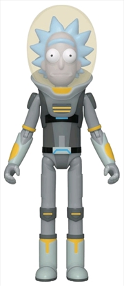 Rick and Morty - Rick Space Suit Action Figure | Merchandise