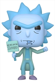 Rick and Morty - Hologram Rick (Ignored) US Exclusive Pop! Vinyl [RS] | Pop Vinyl