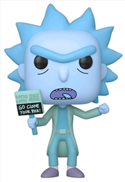 Rick and Morty - Hologram Rick (Clone) Pop! Vinyl | Pop Vinyl