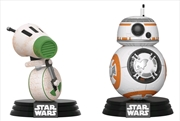 Star Wars - BB-8 & D-0 Episode IX Rise of Skywalker US Exclusive Pop! Vinyl 2-pack [RS] | Pop Vinyl