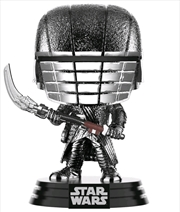 Star Wars - Knight of Ren Scythe Episode IC Rise of Skywalker Hematire Chrome Pop! Vinyl | Pop Vinyl
