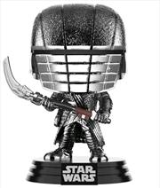 Star Wars - Knight of Ren Scythe Episode IC Rise of Skywalker Hematire Chrome Pop! Vinyl | Pop Vinyl