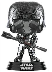 Star Wars - Knight of Ren War Club Episode IC Rise of Skywalker Hematite Chrome Pop! Vinyl | Pop Vinyl