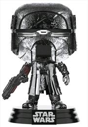 Star Wars - Knight of Ren Blaster Episode IX Rise of Skywalker Hematite Chrome Pop! Vinyl | Pop Vinyl