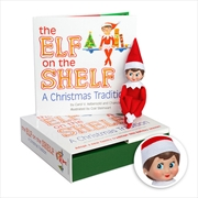 Elf On The Shelf - A Christmas Tradition (Girl) | Hardback Book