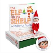 Elf On The Shelf - A Christmas Tradition (Girl) | Hardback Book