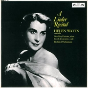 Helen Watts - Lieder Recital | CD