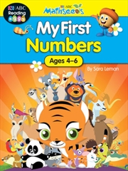 ABC Mathseeds My First Numbers Activity Book | Paperback Book