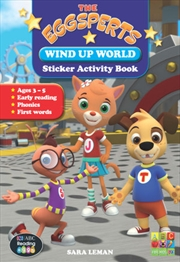 The Eggsperts Sticker Activity Book - Wind Up World Ages 3-7 | Paperback Book