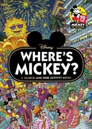 Where's Mickey? : A Search and Find Activity Book | Hardback Book