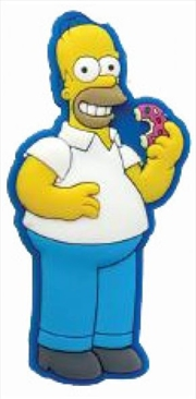 Magnet Soft Touch The Simpsons Homer Simpson with Donut | Merchandise