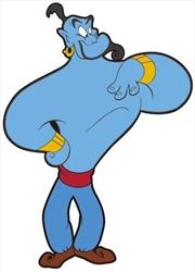 Magnet Soft Touch Aladdin Genie | Merchandise