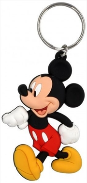 Keyring Soft Touch Mickey Mouse Walking | Accessories