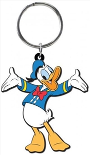 Keyring Soft Touch Donald Duck   Accessories