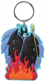 Keyring Soft Touch Disney Villians Maleficent | Accessories