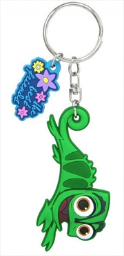 Keyring Soft Touch Disney Princess Tangled Pascal   Accessories