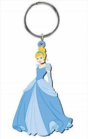 Keyring Soft Touch Disney Princess Cinderella   Accessories