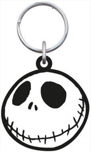 Keyring Soft Touch A Nightmare Before Christmas Jack Skellington Head Smiles | Accessories
