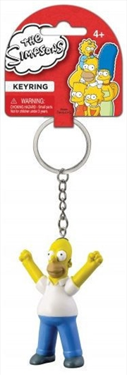Keyring PVC Figural The Simpsons Homer Simpson | Accessories