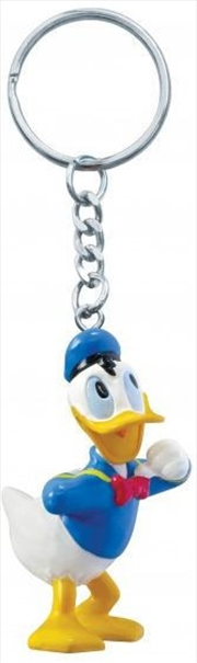 Keyring PVC Figural Donald Duck | Accessories