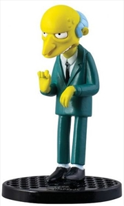 PVC Figurine The Simpsons Montgomery Burns 2.75"