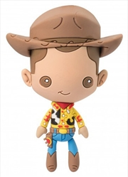 Magnet 3D Foam Toy Story Woody | Merchandise
