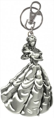Keyring Pewter Disney Princess Beauty and the Beast Belle | Accessories