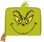 Dr Seuss - Grinch Zip Purse | Apparel