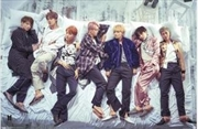 BTS Group Bed Poster | Merchandise