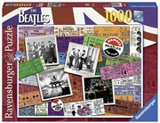 Beatles Tickets 1000pc Puzzle | Merchandise