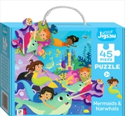 Junior Jigsaw Mermaids & Narwhals | Merchandise