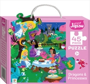 Junior Jigsaw Dragons And Princesses | Merchandise