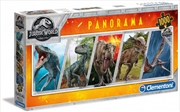 Clementoni Puzzle Jurassic World Panorama 1000 Pieces | Merchandise